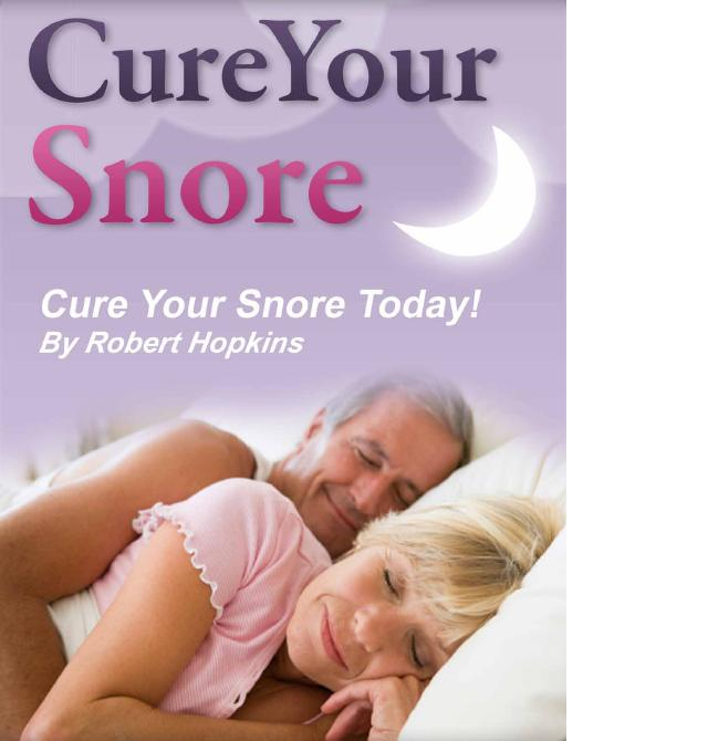 How to Cure Your Snoring