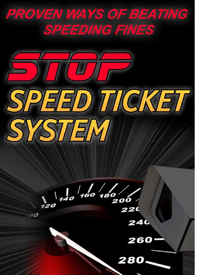 How to stop speeding tickets